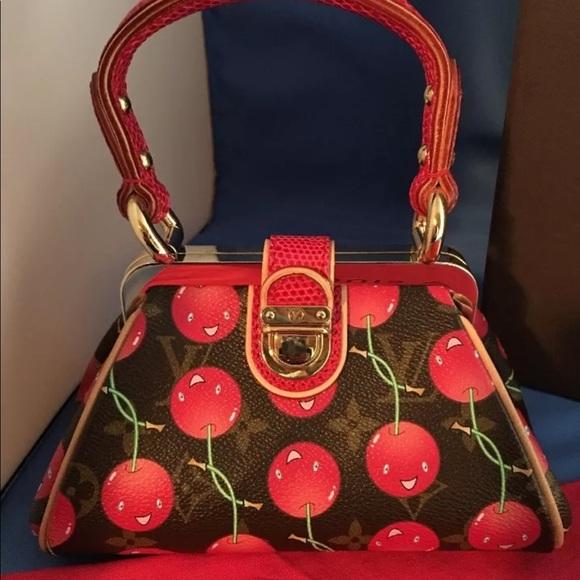 1ef7bdffb933 Louis Vuitton Handbags - Louis Vuitton Monogram Takashi Murakami Purse 👛